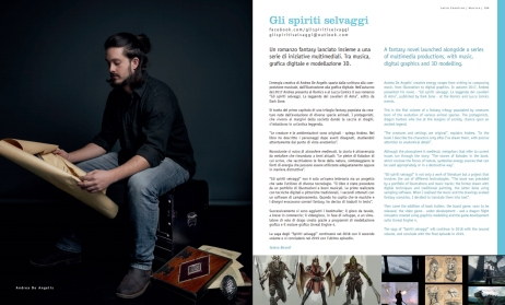 Newspaper article about the project THE WILD SPIRITS, with biography, description and articles.