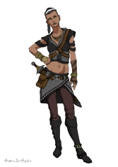 Shayra of the Senneth - Shayra dei Senneth